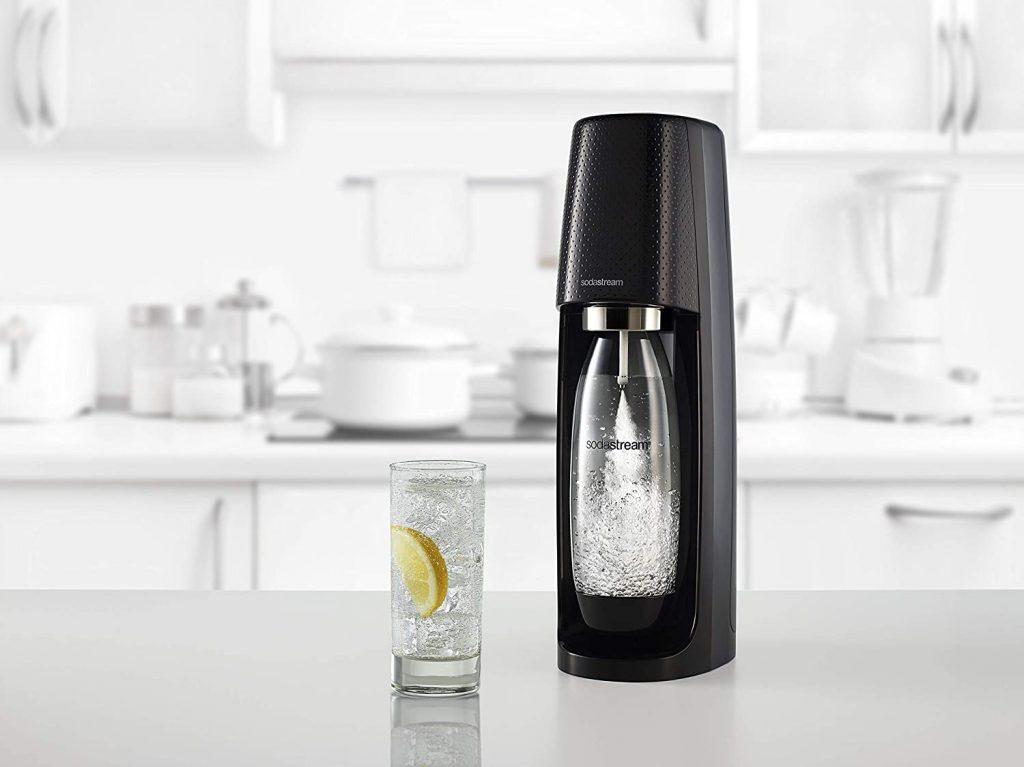 Sodastream Mega Pack Black - 3 Bottiglie + 1 Cilindro