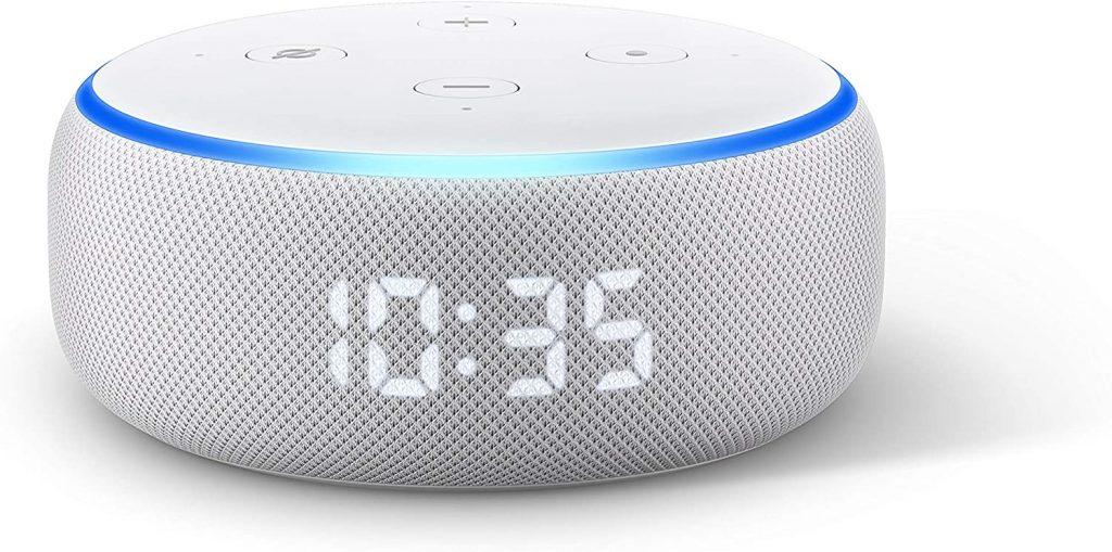 Echo Dot (3ª gen) - Altoparlante intelligente con orologio e Alexa