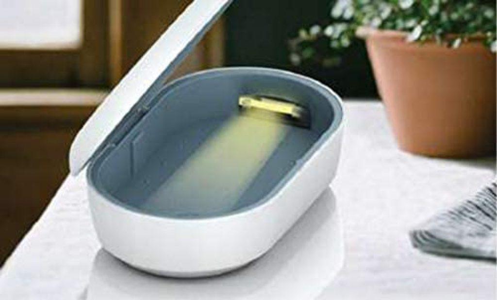 Sterilizzatore UV con caricatore wireless ed aromaterapia