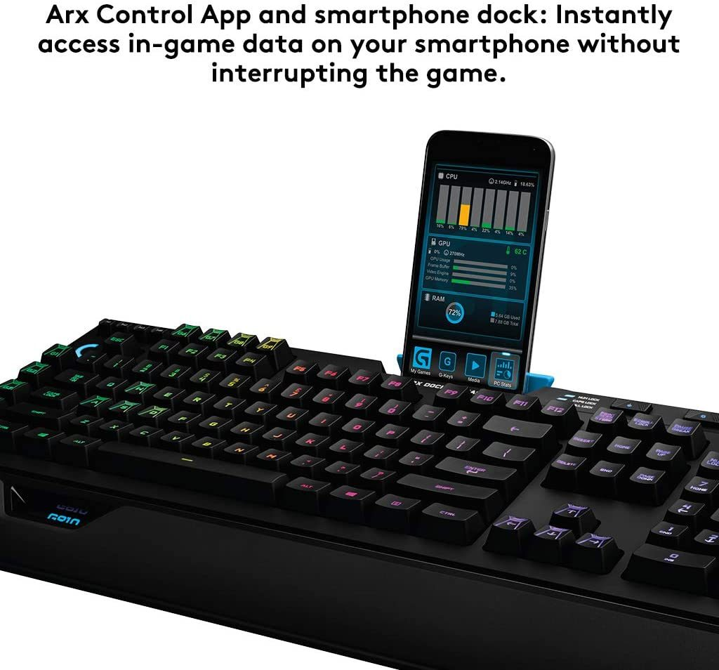 Logitech Tastiera Gaming Retroilluminata
