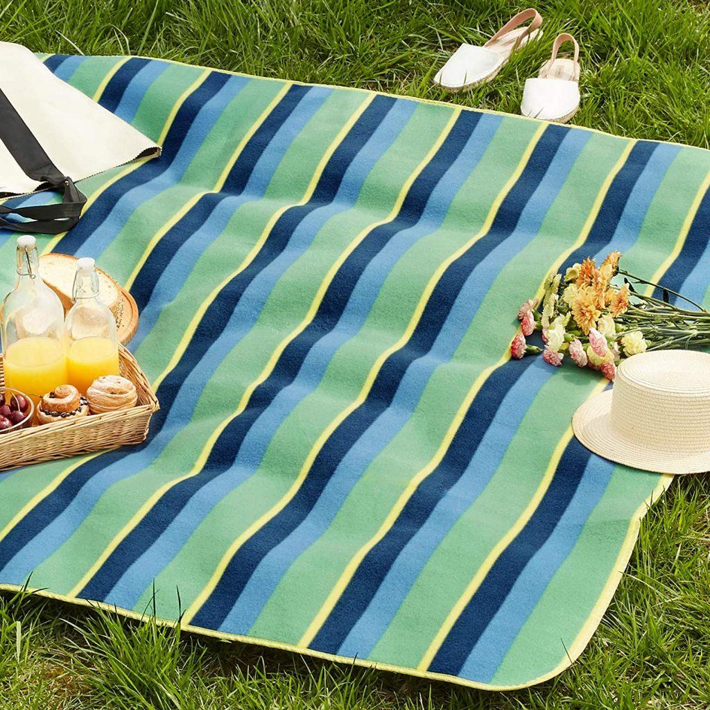 Coperta da picnic - retro impermeabile 200 x 200 cm