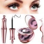 Ciglia Magnetiche con Eyeliner Magnetico Impermeabile