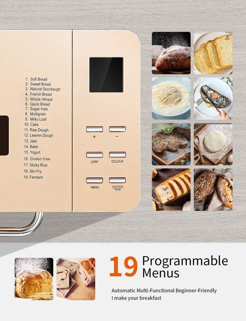 Macchina per Pane e Dolci con 19 Programmi Automatici