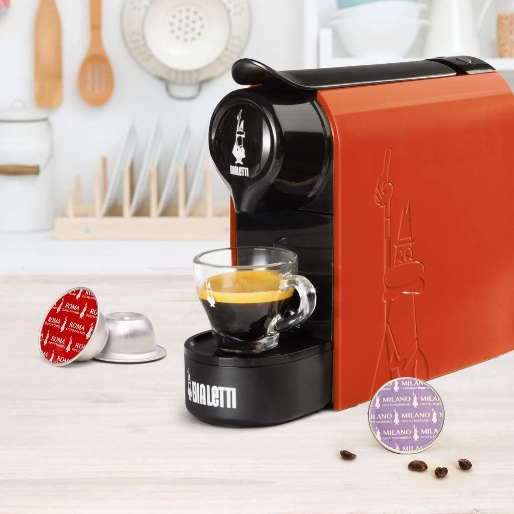 Bialetti Gioia - Macchina da Caffè Espresso Arancione