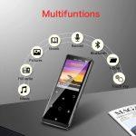 Lettore MP3 BT 4.1 16GB con Radio FM/Registratore Vocale