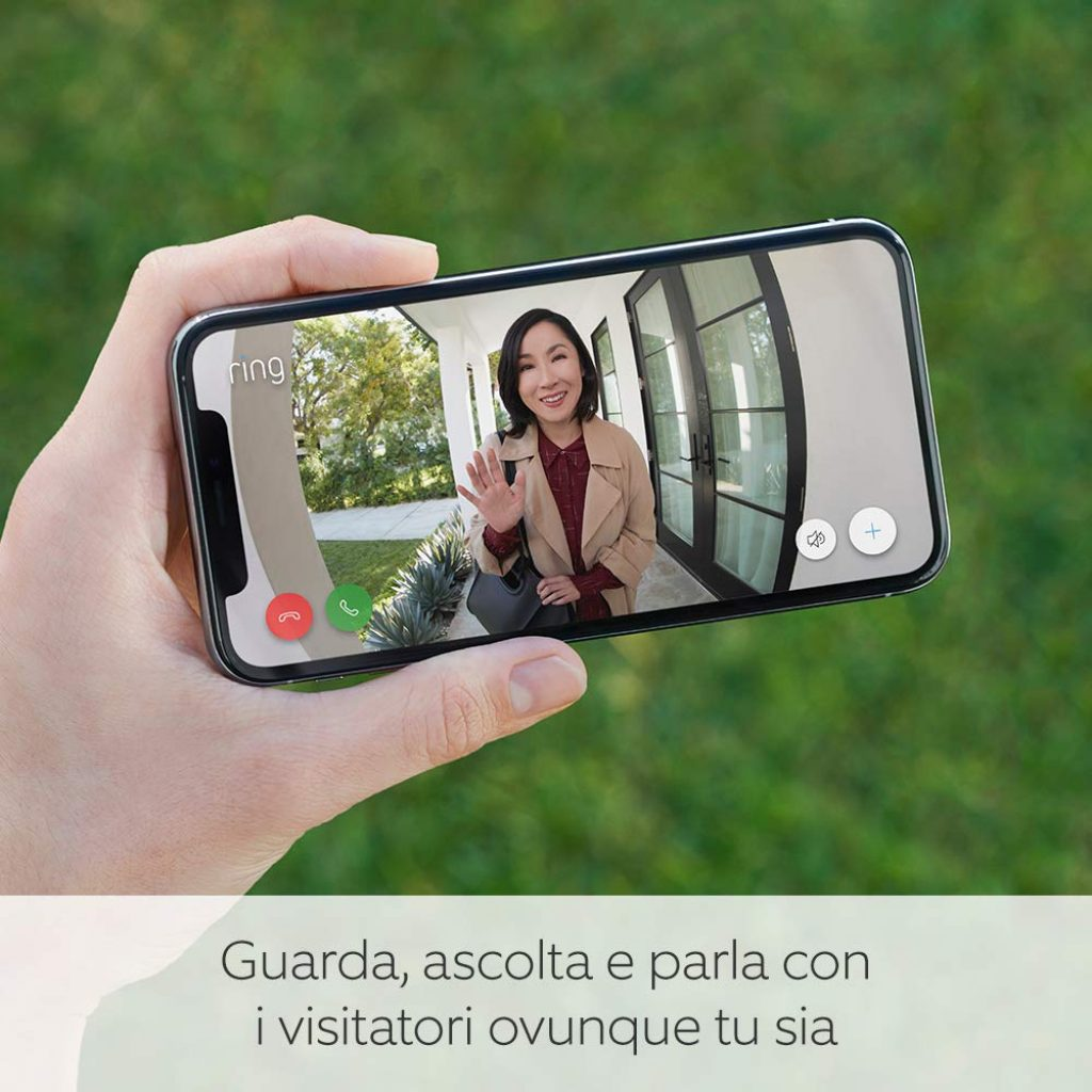 Ring Video Doorbell 3 - Videocitofono in HD