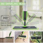 Mop Pavimenti Rotante di 360° + 2 Panni in Microfibra