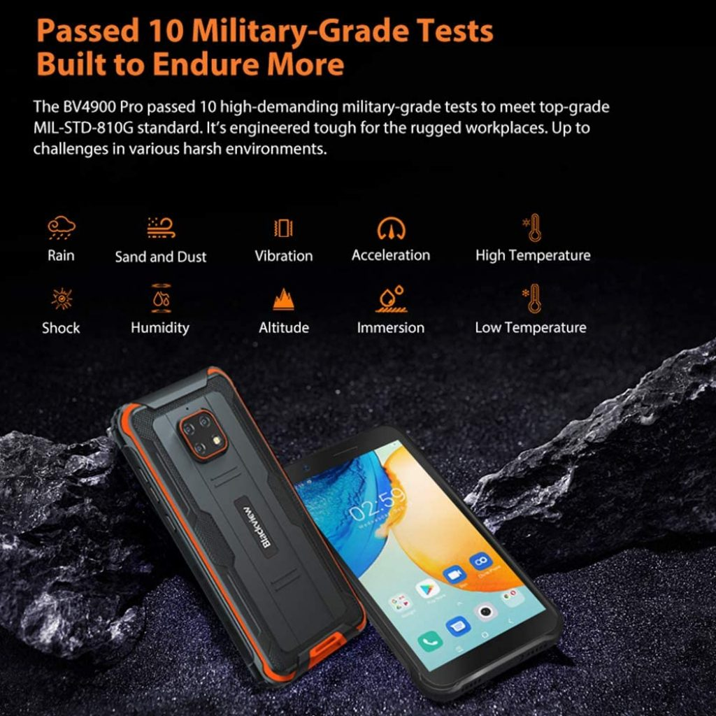 """Blackview BV4900 PRO 5.7"""" - Android 10 4G"""