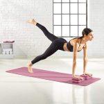 Set da 6 pezzi per yoga con tappetino spesso