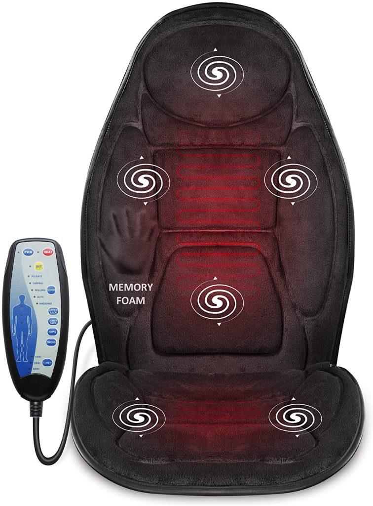 Cuscino Sedile Massaggiante con Calore