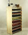 Porta Bottiglie Vino per 56 Bottiglie