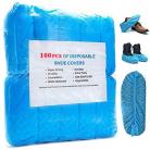 Copriscarpe Monouso Protezione Impermeabile 100 Pz