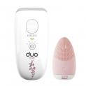 🌸Homedics Duo One – Epilatore a luce pulsata + Spazzola Viso