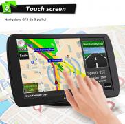 Navigatore Satellitare 9 Pollici GPS – Aggiornamenti gratuiti mappe