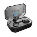 Cuffie Bluetooth 5.0 con Custodia da Ricarica e Microfono