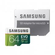 💾Samsung Scheda MicroSD da 64 GB con adattatore SD