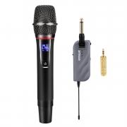 Microfono Wireless con Mini Ricevitore Portatile