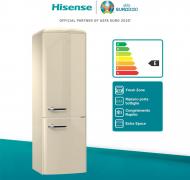Hisense Frigorifero Combinato 322lt – Crema