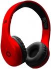 Cuffie stereo wireless con microfono integrato – Rosso