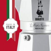 Bialetti Moka Express Caffettiera in Alluminio 3 Tazze