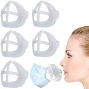 5 staffe di supporto mascherine in silicone