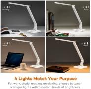 Lampada da Scrivania LED – Bianco