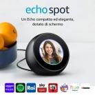 🔊 Amazon Echo Spot – Altoparlante intelligente dotato di schermo con Alexa