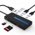 🔌Hub Multiporta USB 3.0 con Lettore Schede SD/TF