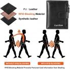 Portafoglio uomo bloccante RFID in pelle