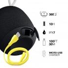 🔊Ultimate Ears Wonderboom – Altoparlante Wireless Bluetooth Nero