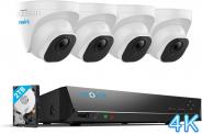 Sistema di Sorveglianza con HDD da 2TB e 4 Telecamere