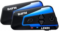 LEXIN 2X LX-B4FM Interfono moto Bluetooth 2pz