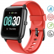 Smartwatch UMIDIGI Orologio Fitness Tracker – Rosso