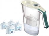 Laica Kit Caraffa Filtrante + 4 Filtri Bi-Flux