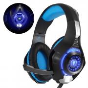 🎧Cuffie Gaming con microfono e luce LED
