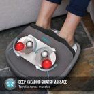 HoMedics Gel Shiatsu Massaggiatore Piedi Portatile