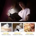 💡Luce per Lettura 14 LED 9 Livelli Luminosità