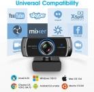 Webcam HD Live Streaming con doppio microfono
