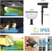 Faretti Solari Esterno 32 LED – 4pz