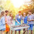 Barbecue Griglia a Carbone Professionale per 5-10 Persone