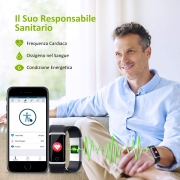 ⌚️Orologio Fitness Tracker – Smartwatch Cardiofrequenzimetro