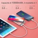 📲Caricabatterie Portatile con Funzione Wireless 10000mAh