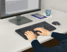 Logitech MK540 Kit Mouse e tastiera Wireless