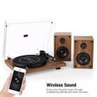 Giradischi Stereo con Impianto di Altoparlanti Hi-Fi Wireless
