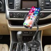 Porta Cellulare Auto [per portabicchiere]