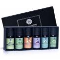 🌸Lagunamoon Olio Essenziale – Set 6 Olii per Aromaterapia