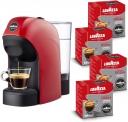 Lavazza a Modo Mio – Macchina per Caffé Espresso Tiny Rossa + 64 Caps