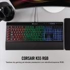 Corsair K55 RGB Tastiera Gaming Retroilluminata