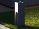 💡Philips Bridge – Palo da Esterno 40cm Alluminio Antracite