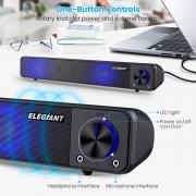 Altoparlante Stereo Portatile per Computer